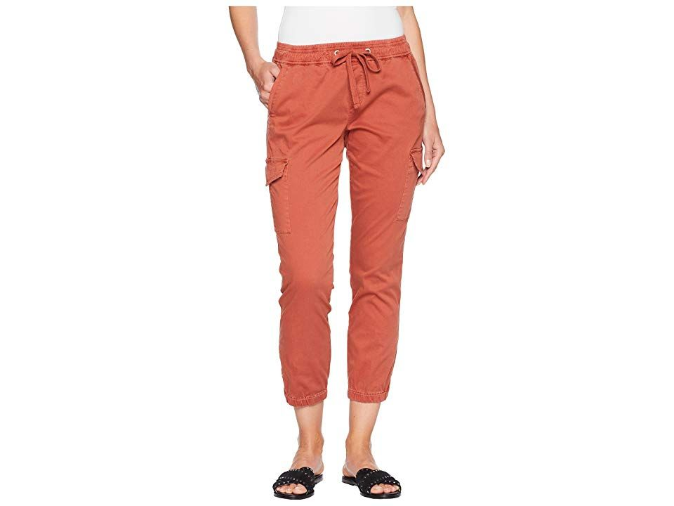 Sanctuary PullOn Trooper Pants Terracotta Womens Casual Pants Let your adventures begin in these goto Sanctuary pants Midrise pant flaunts a relaxed leg with a tapered el...