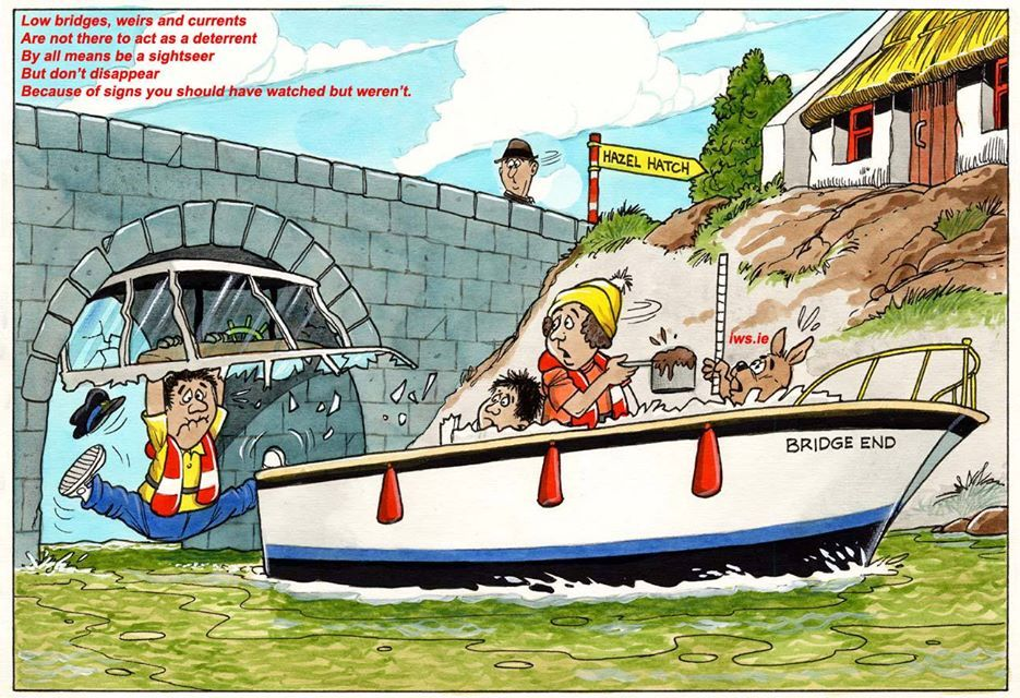 Whatever craft floats your boat, please beware of local hazards such as strong currents, weirs and low bridges. Reduce your speed and give a wide berth to other water users. Always reduce speed when passing smaller craft like rowing & angling boats and keep an eye out for swimmers as they can be difficult to see from a boat. A slow approach enables you to assess the situation and that your craft does not pose any danger to them in the water. #WaterSafety #StopDrowning