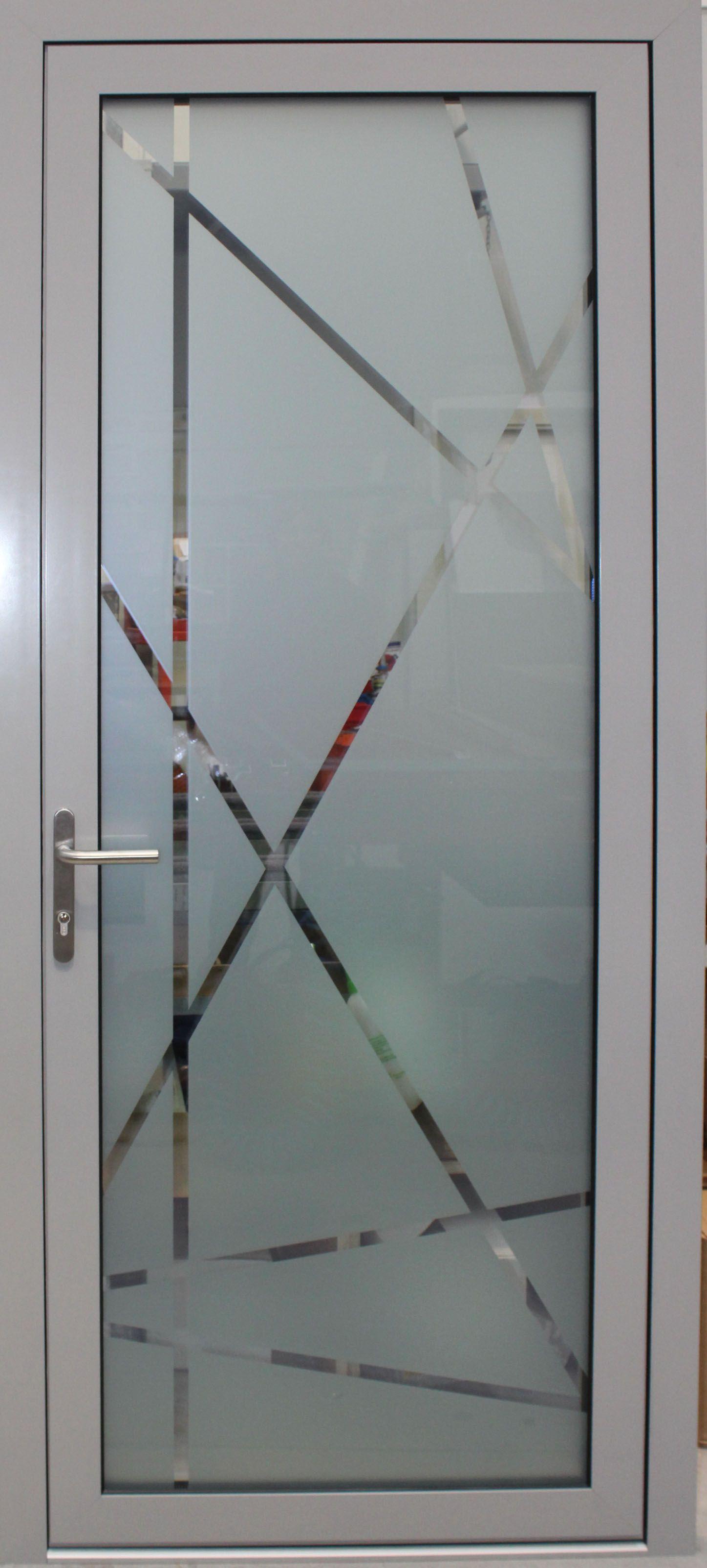 Puerta Completa De Vidrio Vidropanel De Indupanel Disponible En Doble Y Triple Acristalamiento Y Comp Ventanas De Vidrio Puertas De Vidrio Puertas De Aluminio