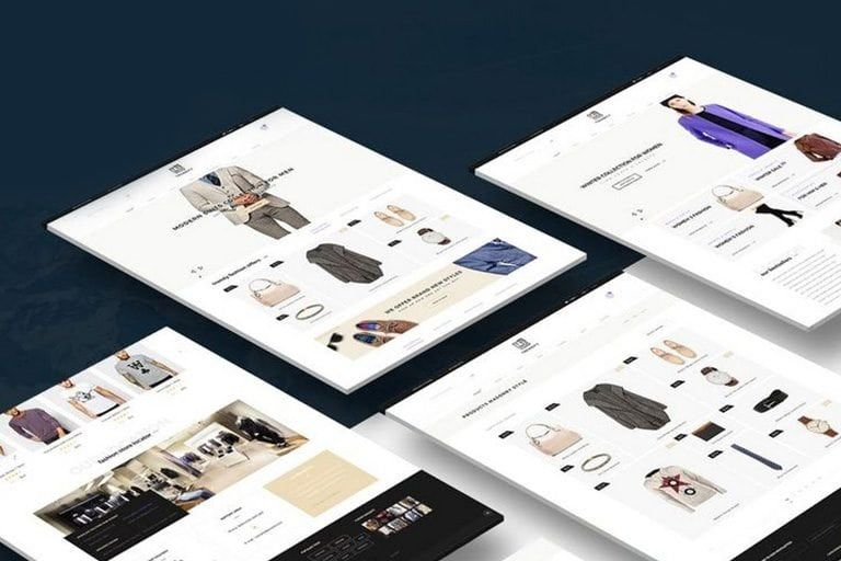 Mockup Templates Design shack, Web design gallery