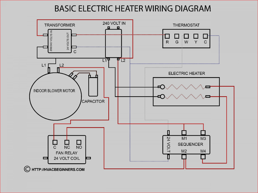 New Hvac Relay Wiring Diagram With Images Electrical Circuit