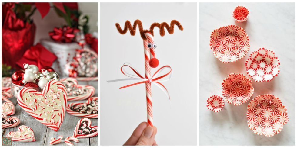 Christmas Decorations Candy Canes 25 Candy Cane Crafts That Make Gorgeous Christmas Decorations