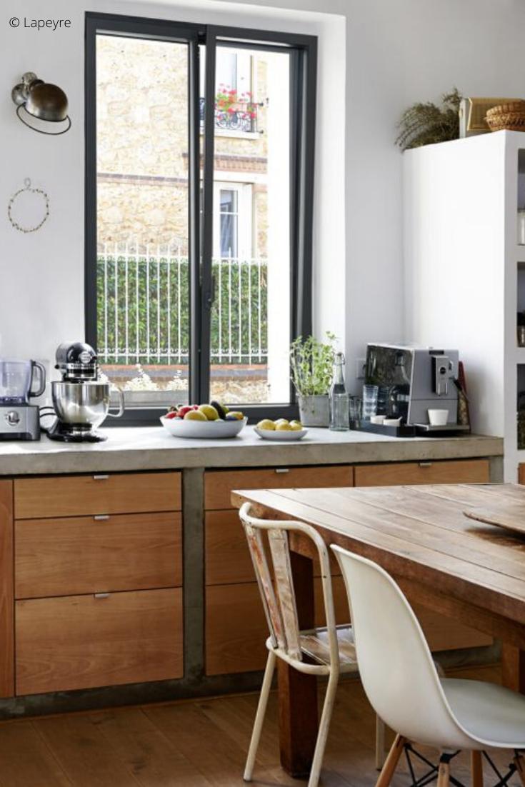 Quelle fenêtre pour une cuisine ?  Fenetre interieure, Fenetre