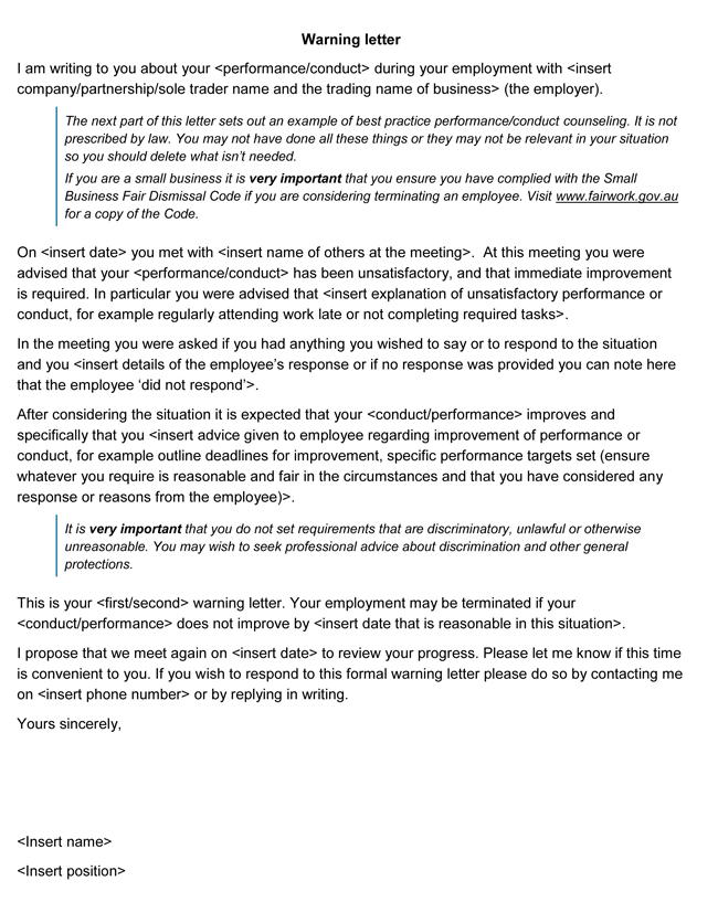 warning letter templates 20+ sample & formats for hr format of cv job application template electrical engineer entry level software resume