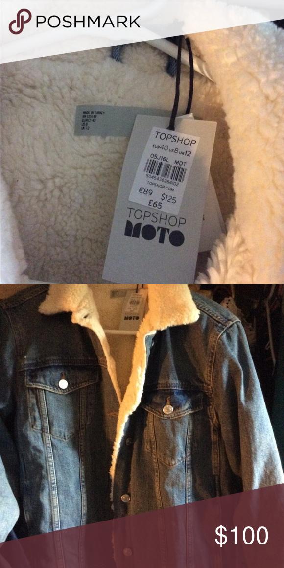 faux shearling oversized moto jacket