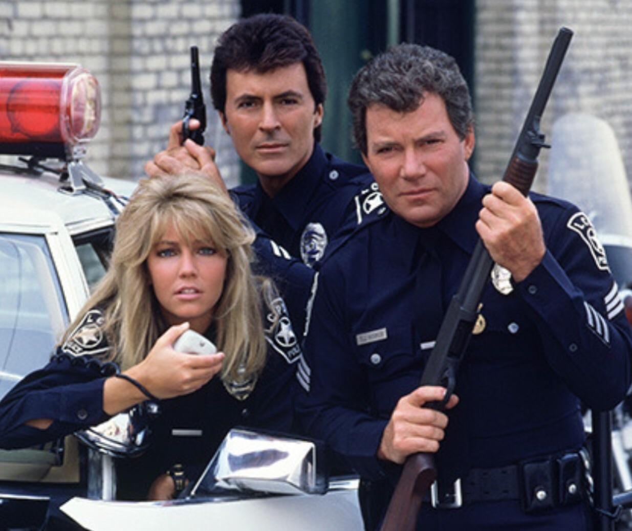 Promotion Shot For Police Procedural Show T.J. Hooker