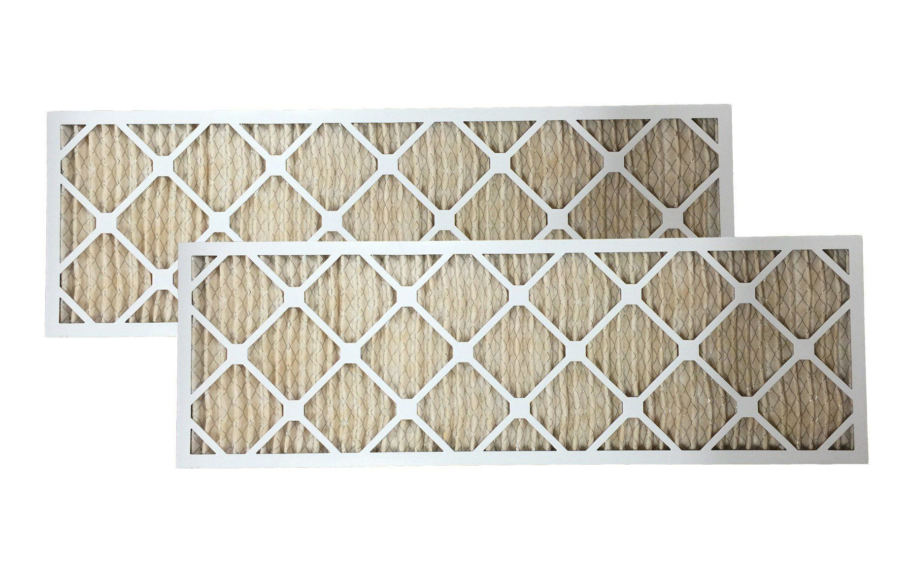 2 12x36x1 MERV11 Allergen Air Furnace Filters Furnace