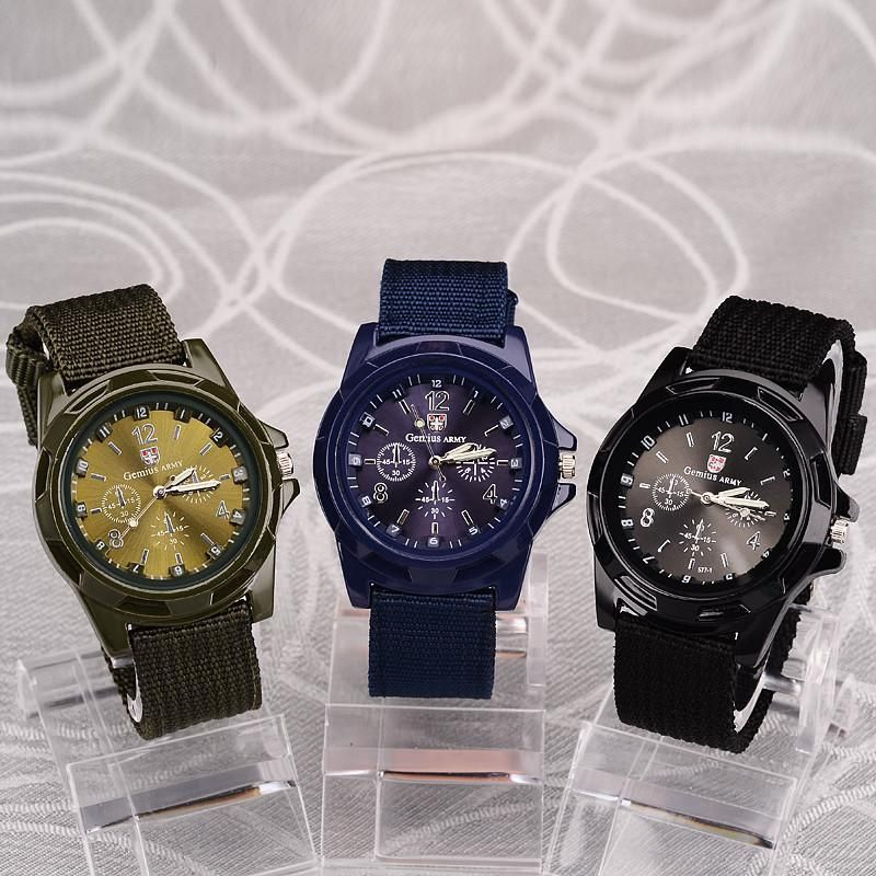 Men's Military Style Watches - Three Color Choices #sportswatches