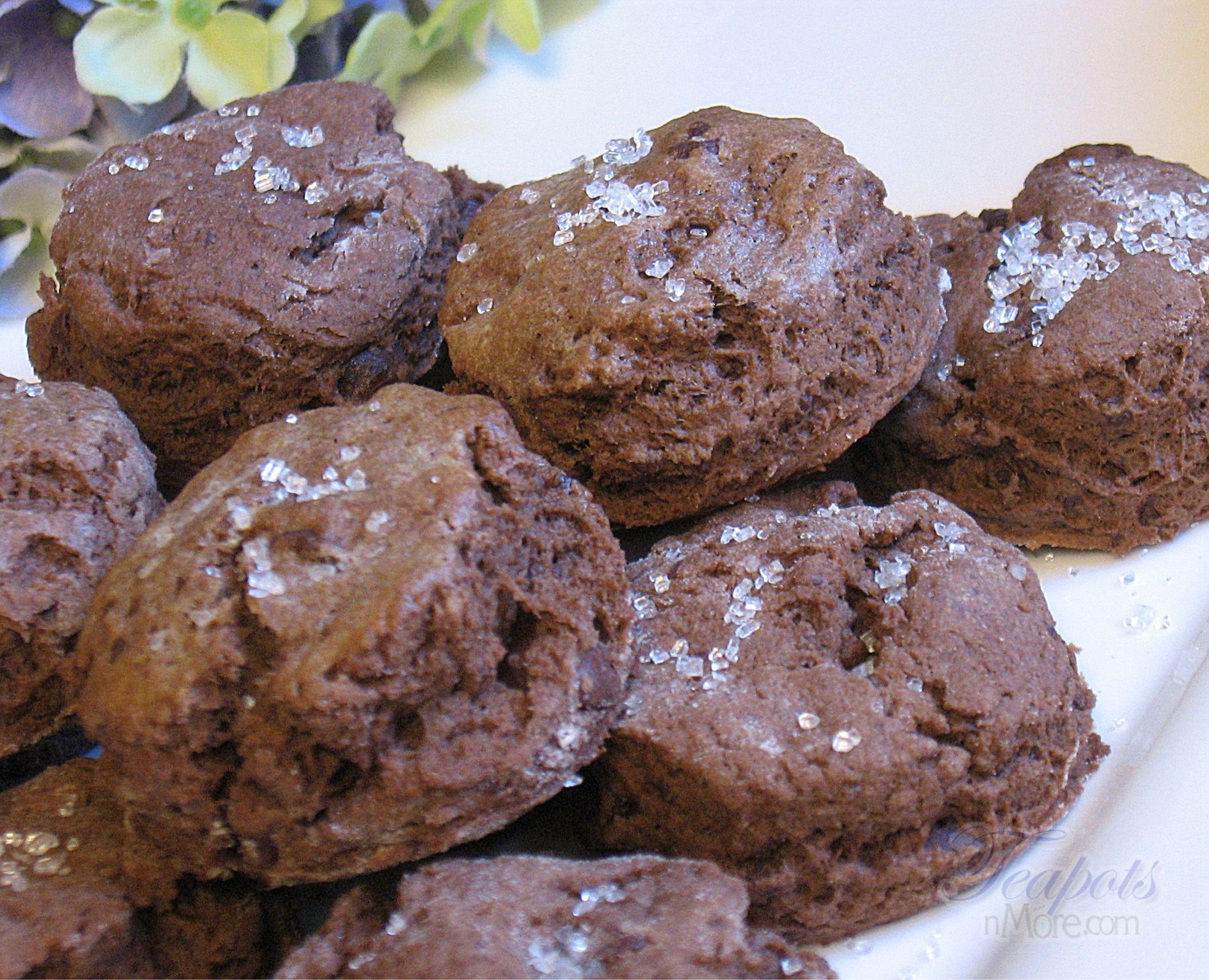 Triple Chocolate Scones Recipe