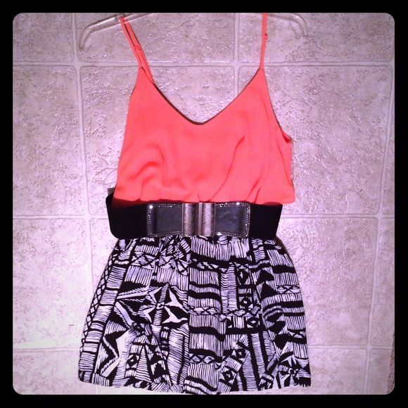 Romper w/ Belt Such a fun outfit! Very comfy and great for going out! Pair it with heels/wedges and you're set! Ruby Rox Dresses