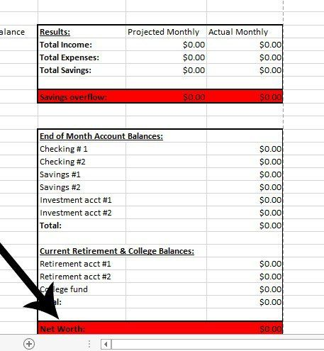 Create a Successful Monthly Budget that Works {FREE Excel - how to create a spreadsheet