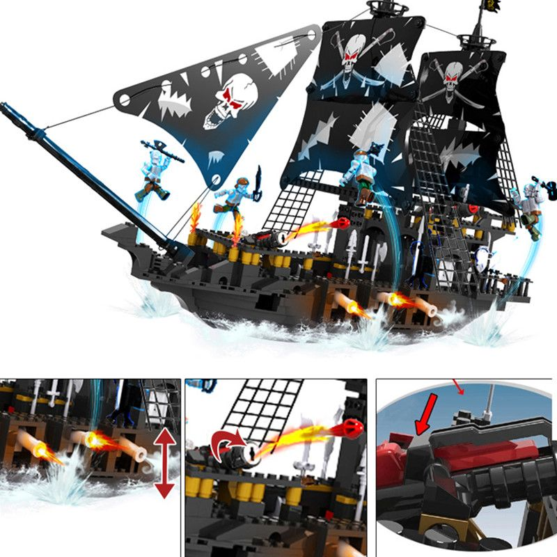36% Off ] Pirates Of The Caribbean Warship Series Black
