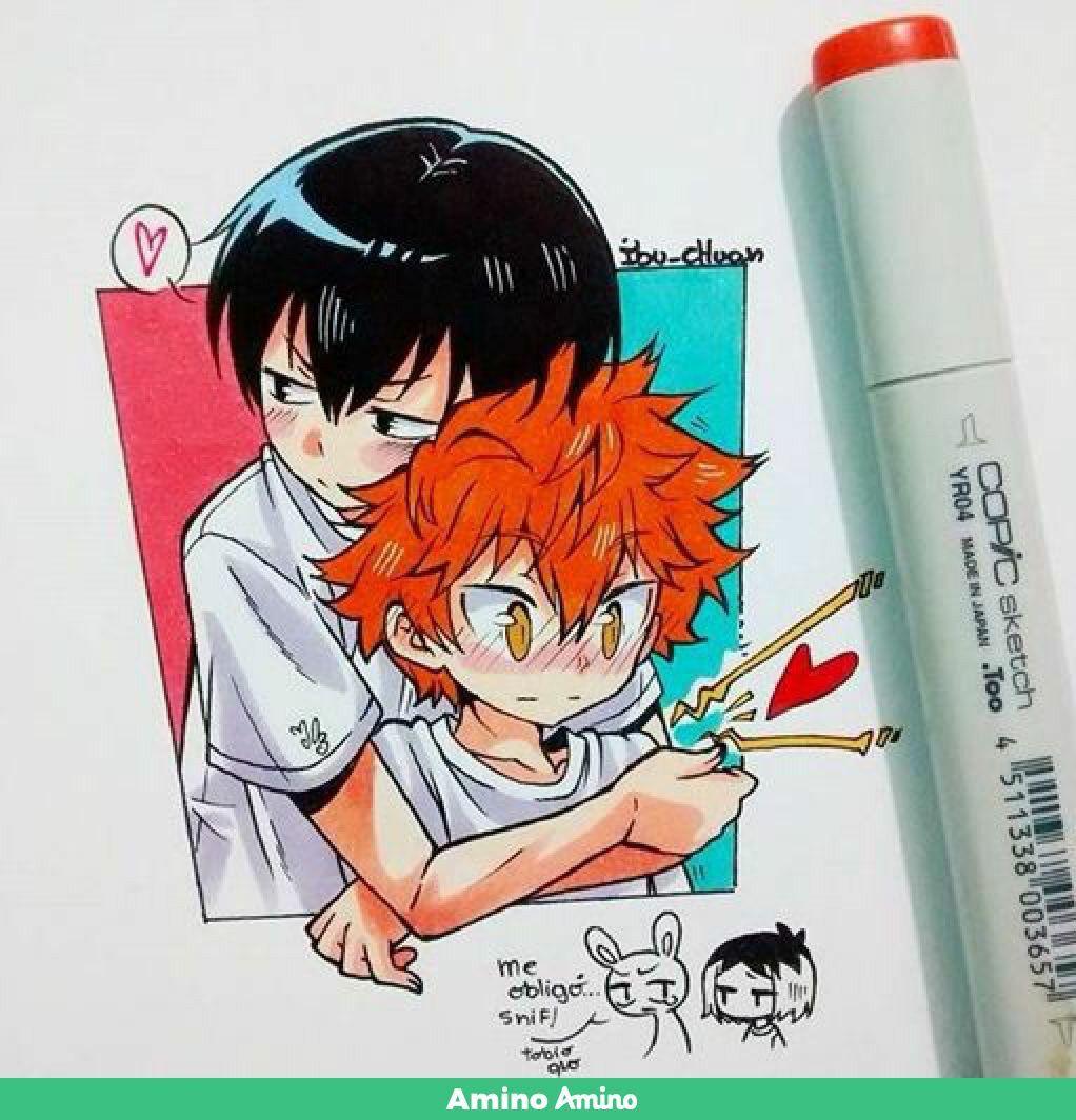Kagehina Anime Chibi Kagehina Cute Kawaii Anime