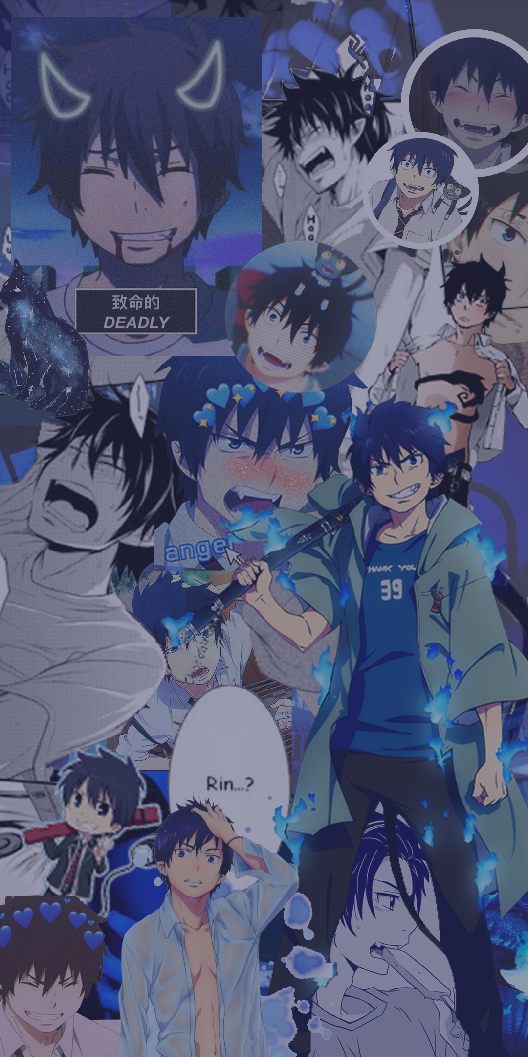 Pin By Kennedy On Wallpapers In 2020 With Images Blue Exorcist