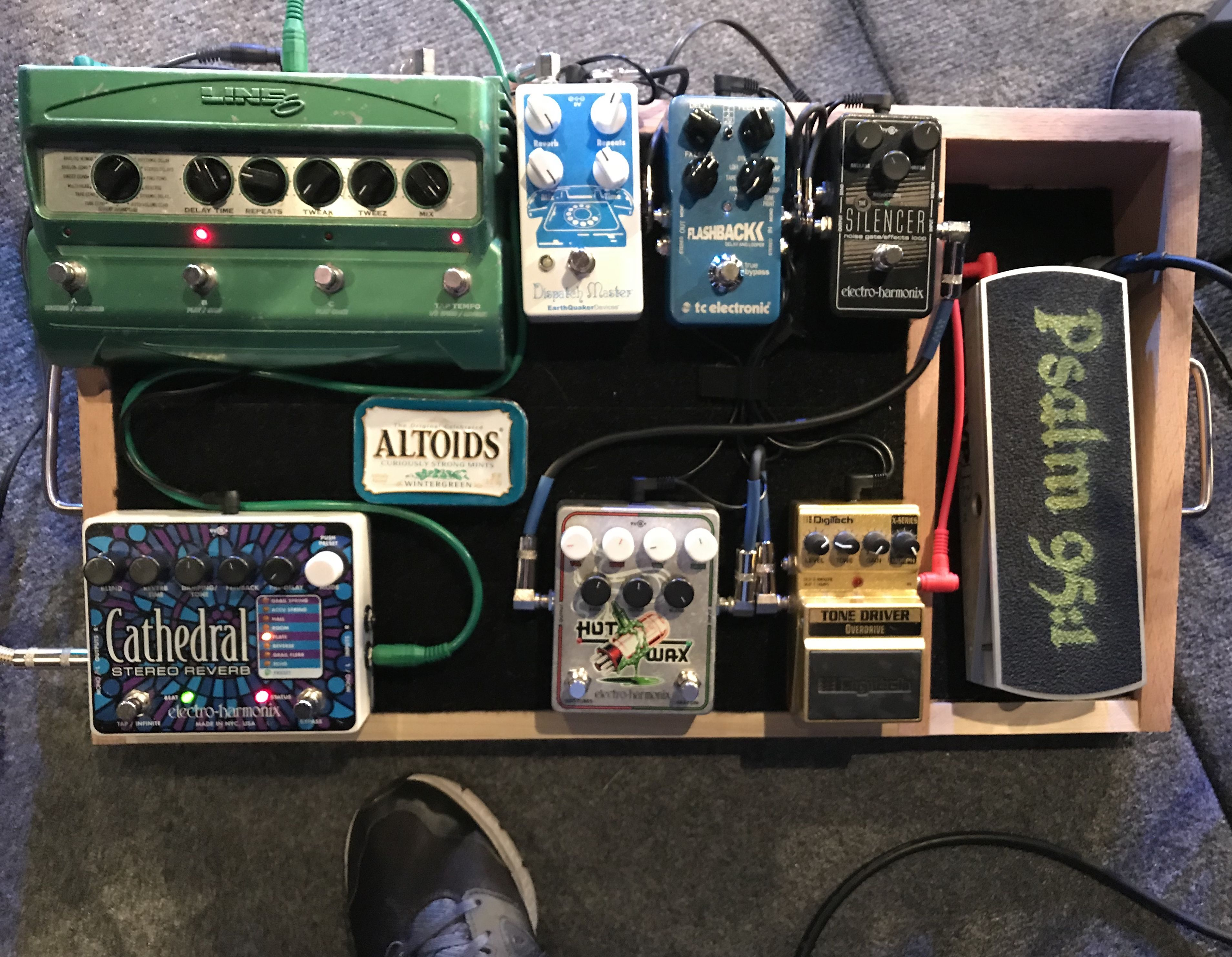 Worship Pedal Board Pedalboard Pinterest Boards Wiring A