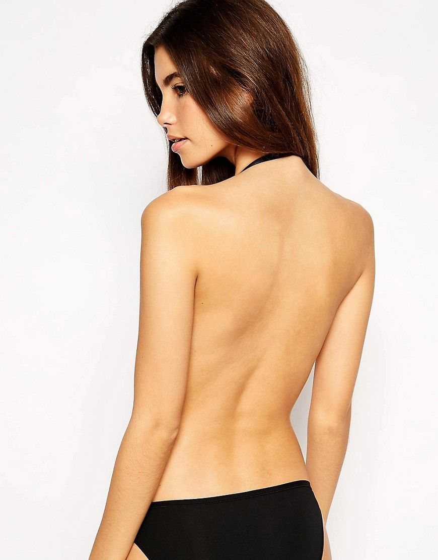 82a79ae0830ed Fashion Forms U Plunge Backless And Strapless Stick On Bra - Black