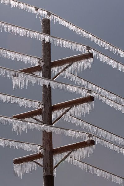 Ah, the ice storms.. Not looking forward to Chris being gone all the time during winter months!