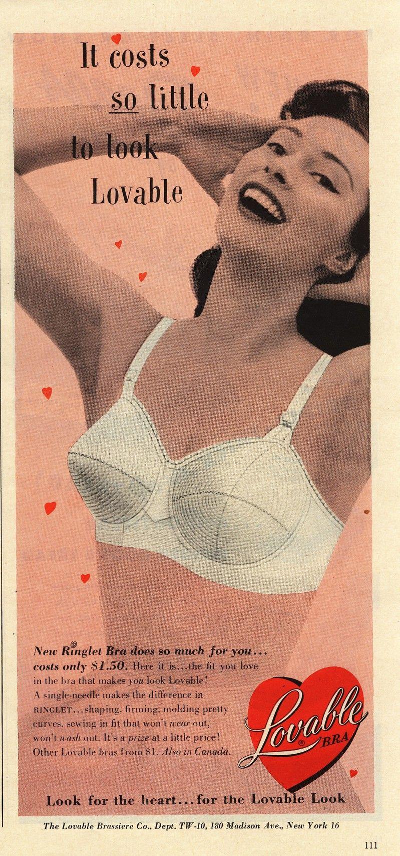 2f2075d9f3573 Image Detail for - Lulu s Vintage Blog  Vintage Bra Ads