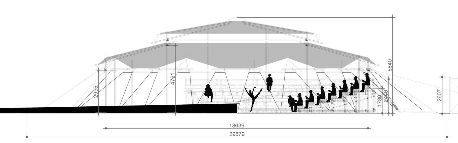 Cómo construir un teatro en la arena con una liviana estructura ...
