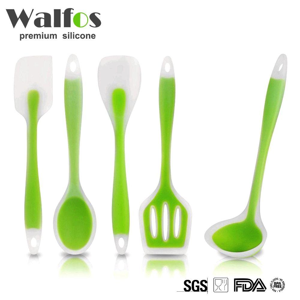 walfos utensilien hitzebeständige kochen utensil set antihaft ... - Silikon Küche