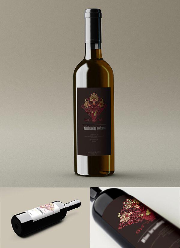 32 Free Wine Bottle Psd Mock Ups Antara S Diary Wine Wine Bottle Free Wine
