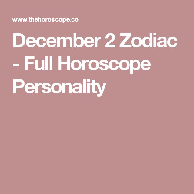 sagittarius december 2 astrology