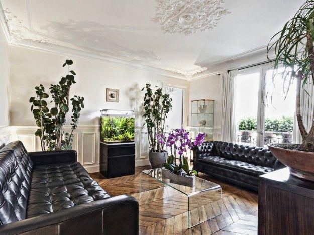 L 39 arredamento in stile parigino arredamento d 39 interni for Arredamento case di lusso interior design