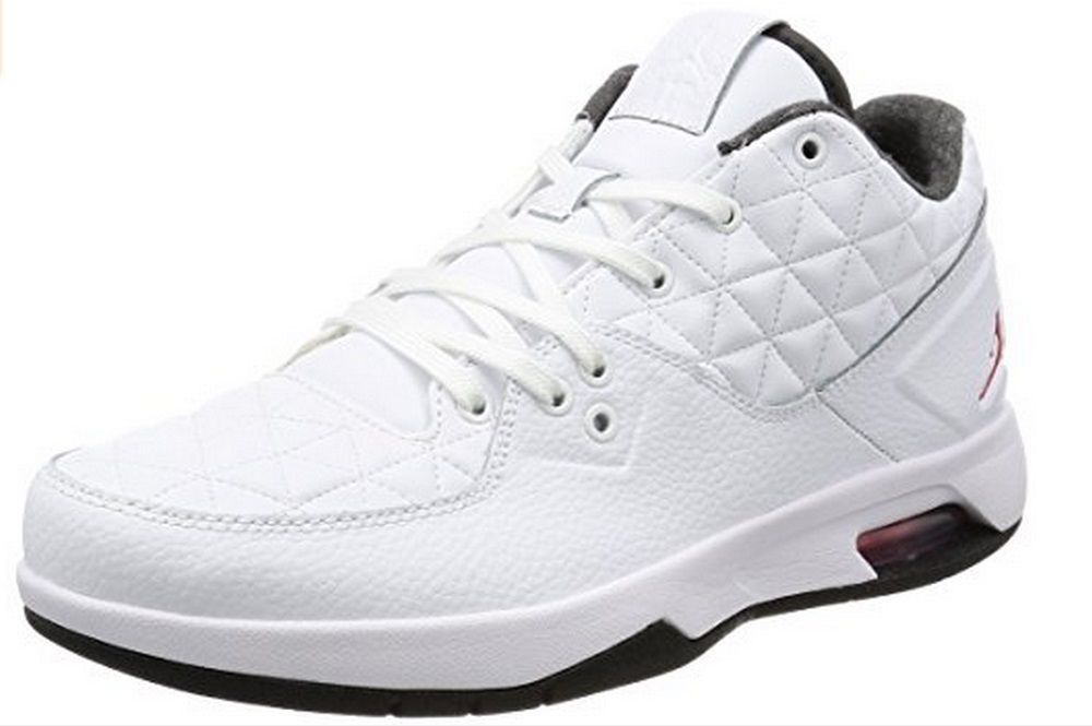 e8711513a2ab29 Nike Men s Jordan Clutch Casual Shoes 845043 101 White Gym Red Black   NikeAirJordan  AthleticSneakers