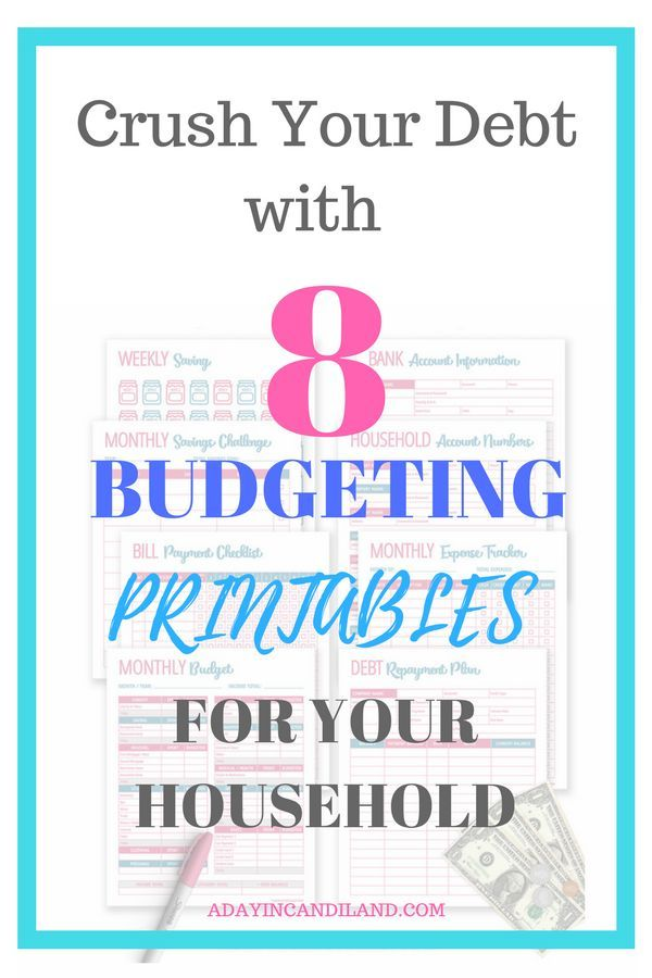 Create A Simple Monthly Budget Template with 8 Printables - sample monthly budget template
