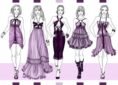 Fashion sketches body on how to draw for beginner draw for How to sketch clothes for beginners