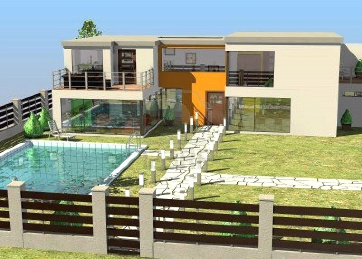 Minecraft Construction De Maison De Luxe Id Es De D Coration Avec 13746146 Rendu 3d De L 39 Architectu Plans De Maison De Luxe Maison De Luxe Maison Architecte