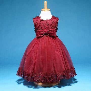 70d396249b7125 Hopscotch - Dorissa - Adorable Bow Applique Sleeveless Dress Green ...