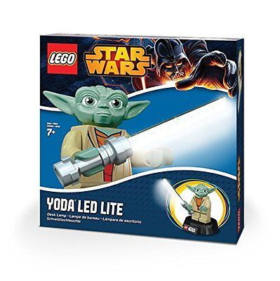 Lego Star Wars Yoda Lightsaber Desk Table Lamp With Usb Power Cable New