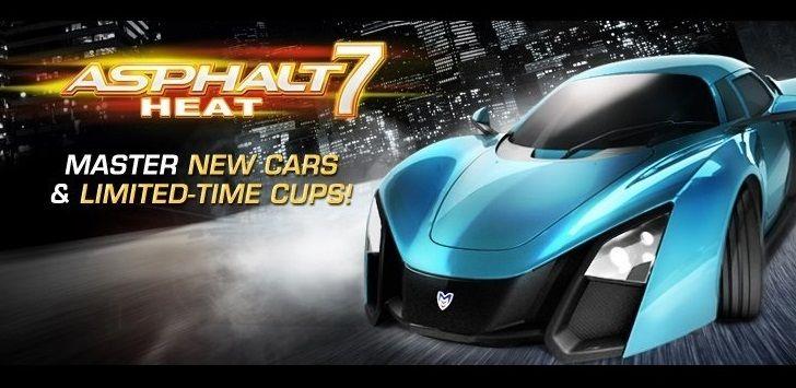 Download Game Balap Mobil Android Asphalt 7 Heat V1 0 6 Game Balap