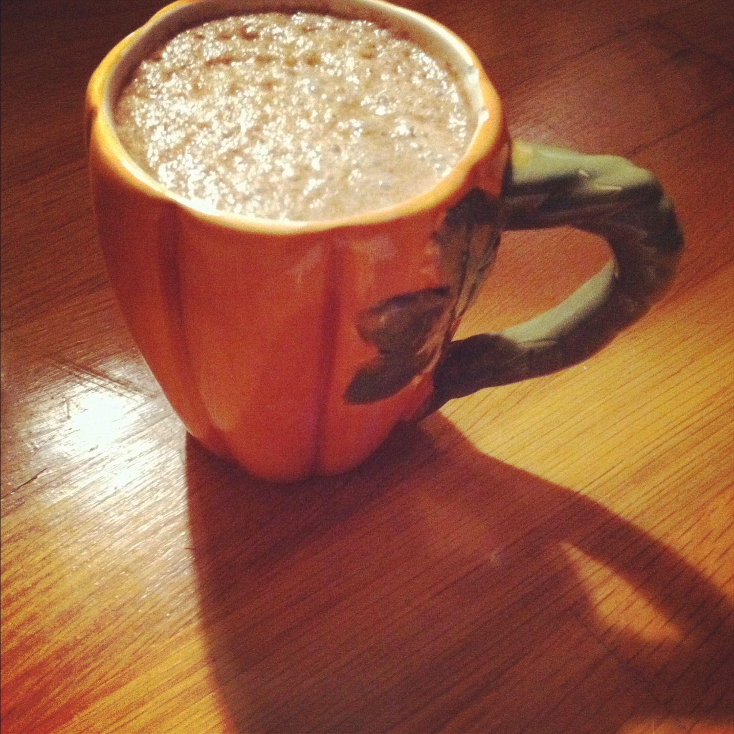 Pumpkin Spice Latte Pumpkin Milk 1 C Milk (soy) 1/4 C