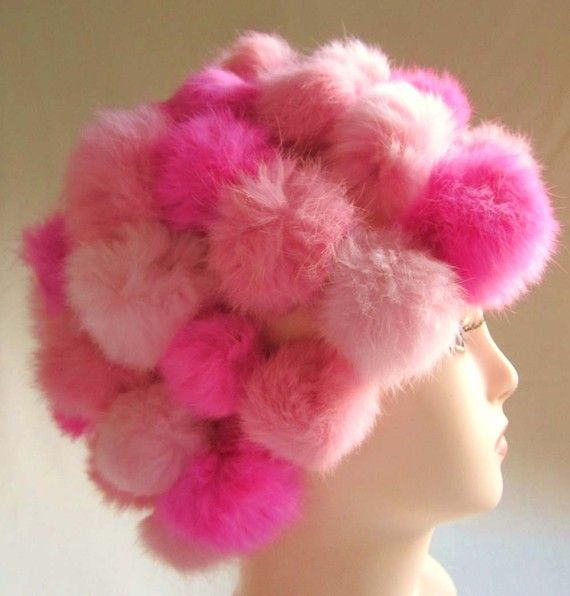 A hat...made of pink...tribbles?