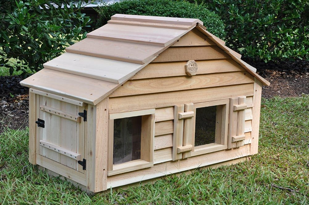 Catillac Cat House Cat house diy, Insulated cat house