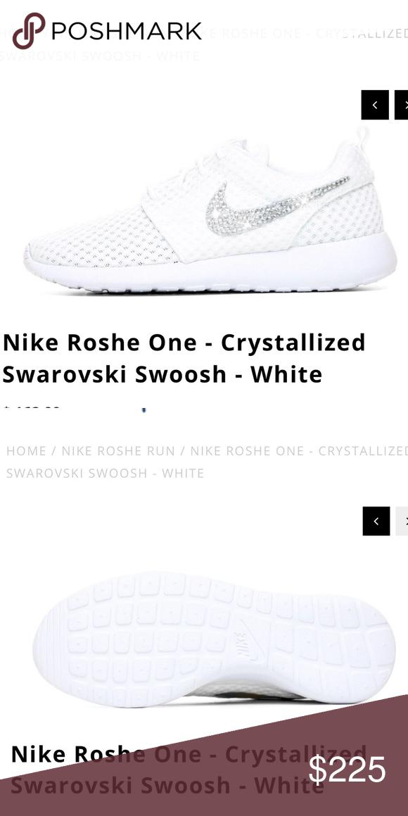 06740004d268 Nike Roshe One - Crystallized Swarovski Swoosh Easy