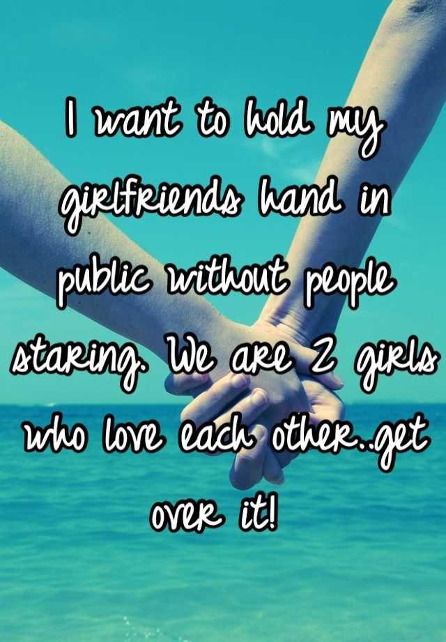 I want a lesbian girlfriend