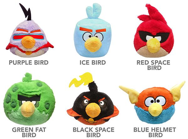 Angry Birds Space Plush w/ Sound | Original Design Ideas | Pinterest ...