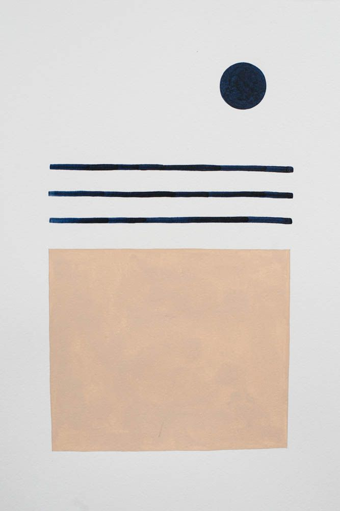 Bobby Clark — Moon Over Sand. Such a soft ,beautiful color palette!