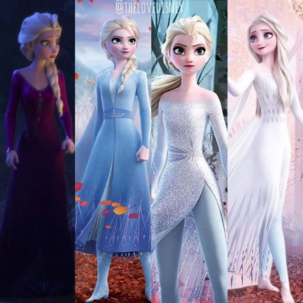 Which of these princess dresses do you like best?