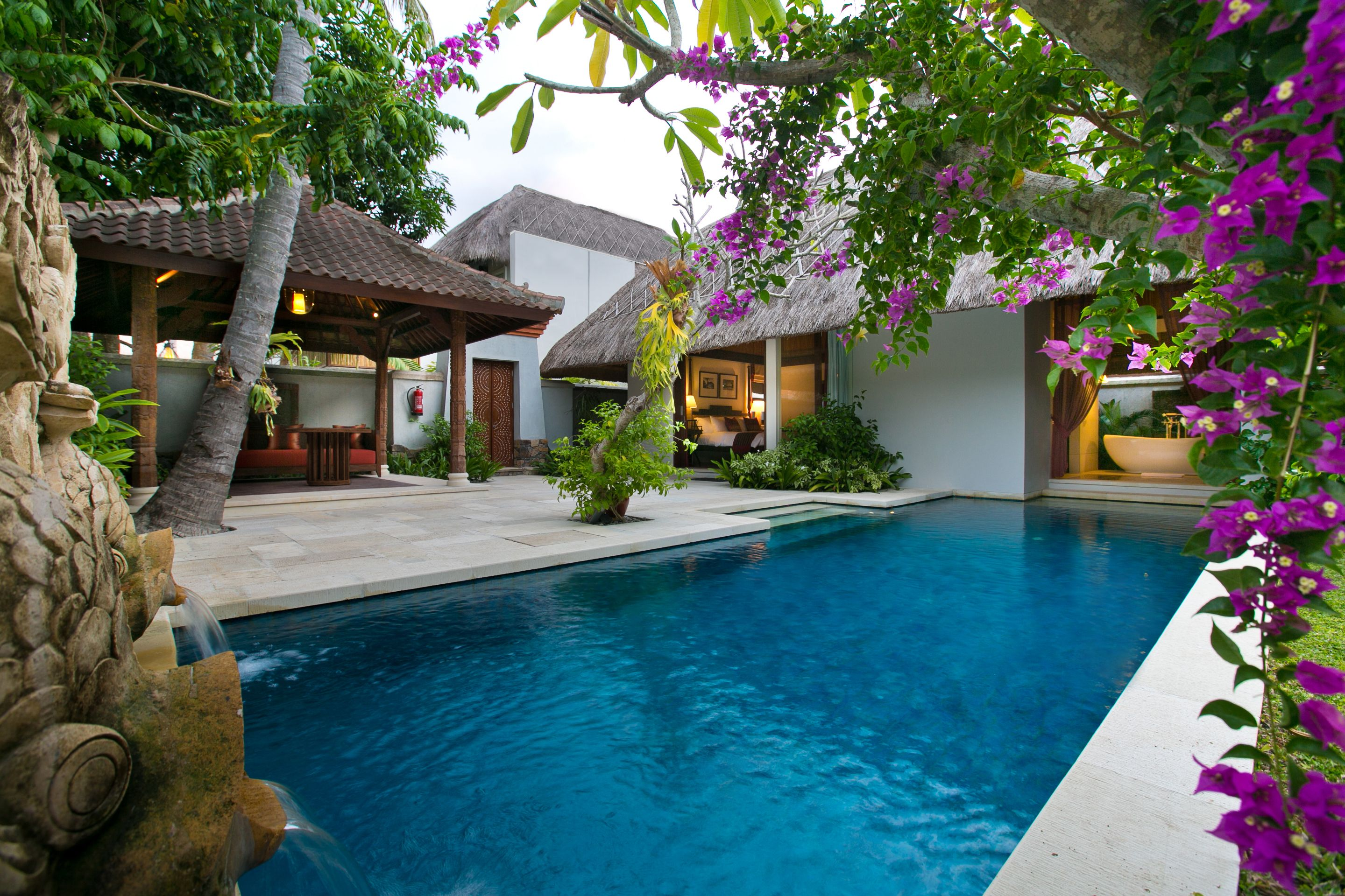 Anjani Private Villa's Pool Bali resort, Hotels and