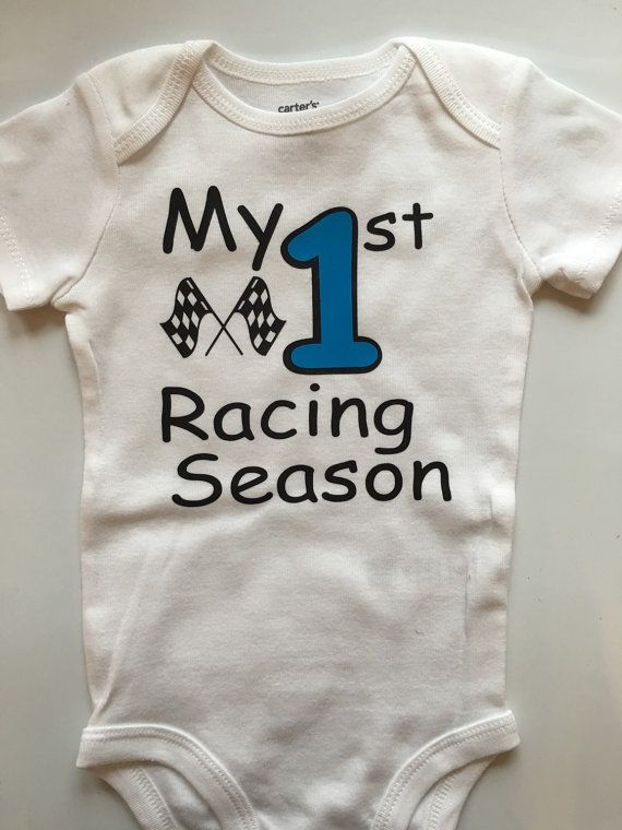 8829b7980 Baby boy Racing outfit - baby boys 1st Racing Race season outfit ...