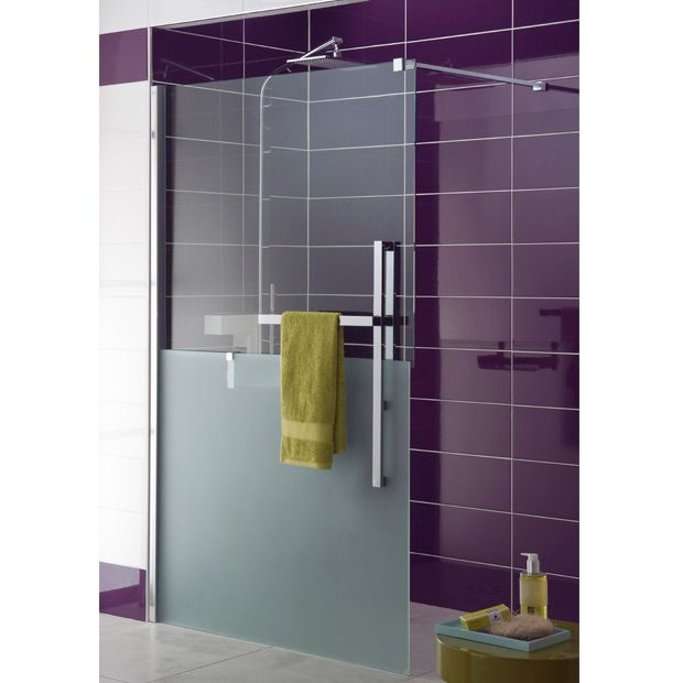 Parois de douche bliss home bath shower cabin pinterest shower cabi - Paroi fixe douche italienne ...