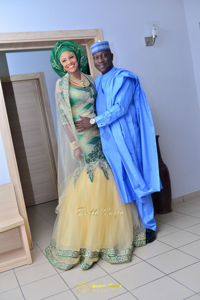 Maryam Augie Hon Abdulmumin Jibrin S Spectacular Outdoor Wedding Celebrations African Clothing African Chic African Fashion