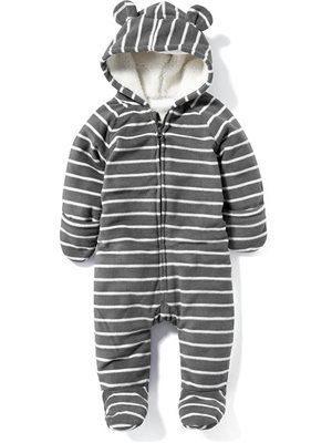 2173914878fb Micro Fleece One-Piece for Baby
