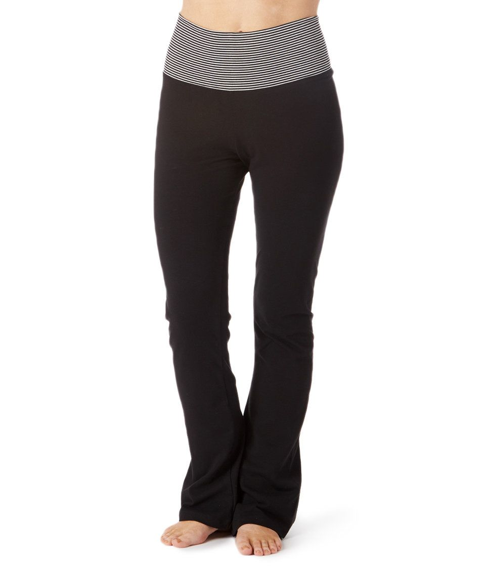 7f5fb108043 Take a look at this Mom   Co. Black Maternity Yoga Pants today ...