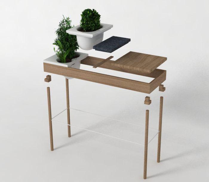 juliette la console modulable par aurele chaudoye et simon. Black Bedroom Furniture Sets. Home Design Ideas