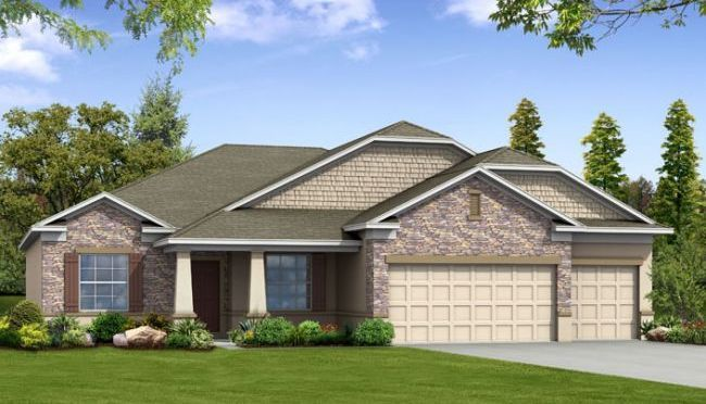 The Sierra New Home Design in Plymouth Creek Estates by Maronda ...
